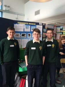 max, mark and cathal at scifest