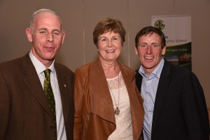 Johnny with mrs Gavin and Joe Grennan