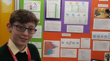 YOUNG SCIENTIST EOIN SHEIRDAN BRINGS BACK TWO AWARDS