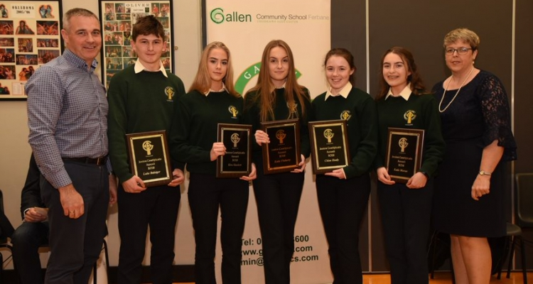 junior cycle awards
